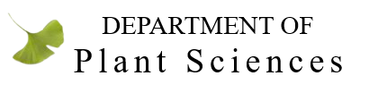 Dept of Plant Sciences Logo