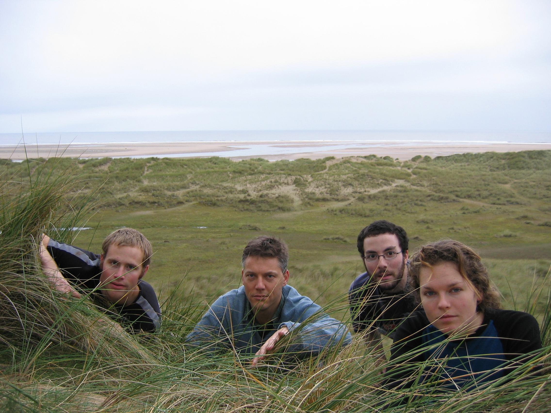 Team photo 2007 in Norfolk coast