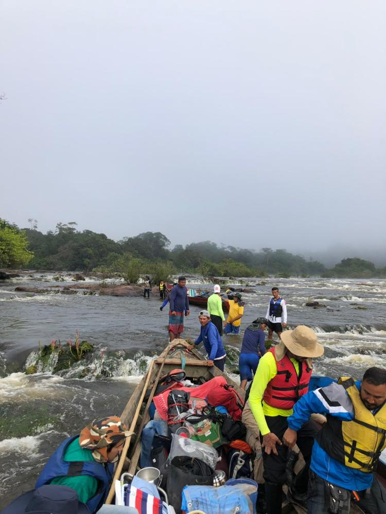 Jari tall tree trip - Mukuru rapids - Rafael Aleixo