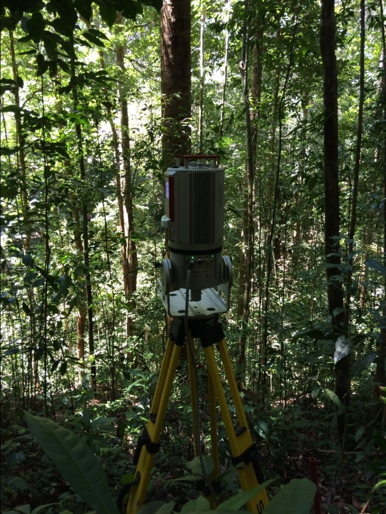 LiDAR Scanner in Danum Valley